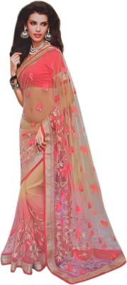 Omaira Embriodered Bollywood Net Sari