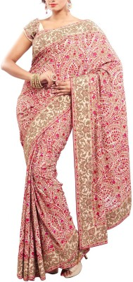 Estri Printed Fashion Handloom Crepe Sari