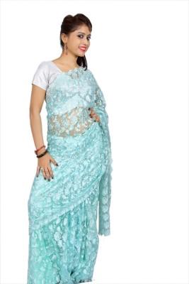 Creativz Hand Embriodered Bollywood Net Sari