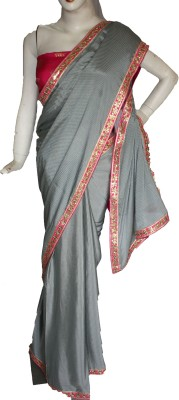 Vincy Self Design Bollywood Georgette Sari