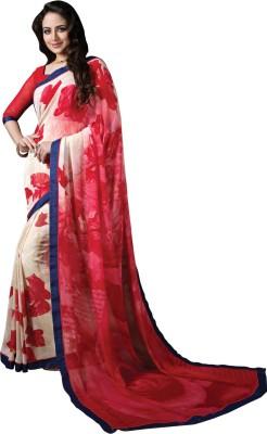 Varnilifestyle Printed Daily Wear Georgette Sari