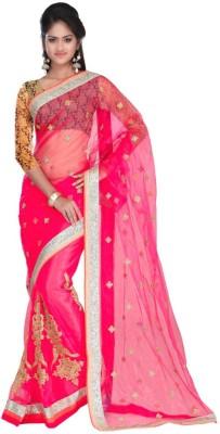manjula feb Embriodered Bollywood Net Sari