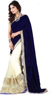 Surati Self Design Bollywood Net Sari