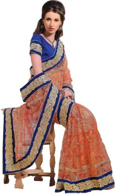Gulmohar Boutique Self Design Fashion Net Sari