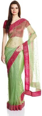 Satrang Embellished Bollywood Net Sari