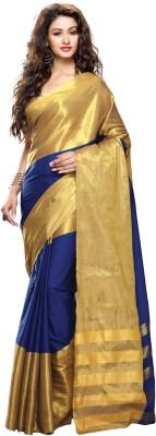 Kjs Plain Bollywood Cotton Sari
