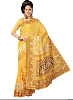 Shama Printed Fashion Handloom Cotton Sari