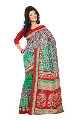 Fabgruh Printed Manipuri Pure Silk Sari