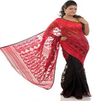 Geetanjali Embellished Jamdani Handloom Cotton Sari