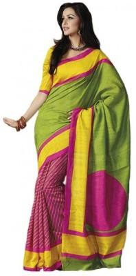 SayShopp Self Design Bhagalpuri Art Silk Sari