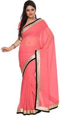 Mahesh Traders Solid Fashion Art Silk Sari
