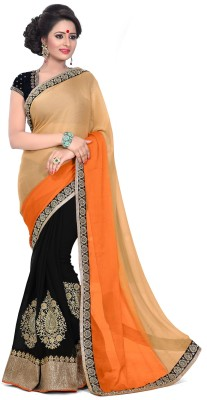 Panvel Embriodered Bollywood Georgette Sari