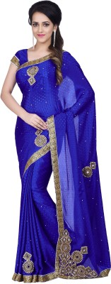 Hitansh Fashion Embriodered Fashion Jacquard Sari