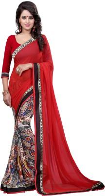 Arya Fashion Printed Bollywood Georgette Sari