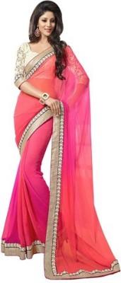 Rinki Saree Centre Self Design Fashion Georgette Sari