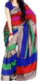 SHABARI Self Design Bhagalpuri Saree (Mu...