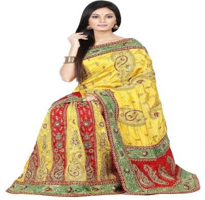 Ambition Embriodered Lehenga Saree Silk Sari