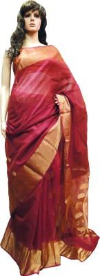Tanjinas Floral Print Muslin Muslin Sari