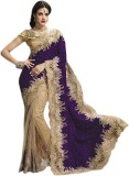 Triveni Self Design Fashion Net, Velvet ...