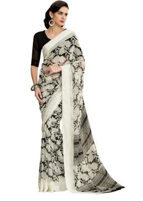 Awesome Printed Fashion Georgette Sari
