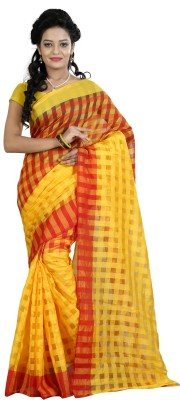Sunrise International Floral Print Daily Wear Cotton Sari