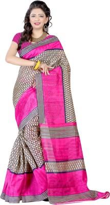 Nyalkaran Self Design Bollywood Silk Cotton Blend Sari