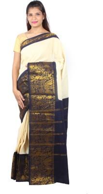 Connectshop Woven Sungudi Cotton Sari