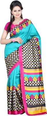 Meshwa Fashion Printed Bhagalpuri Art Silk Sari