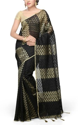 Creation Self Design Bollywood Net Sari