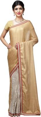 Shloka Woven Banarasi Handloom Net Sari
