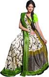 Sunaina Printed Cotton Saree (Multicolor...