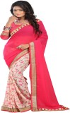 Luxuria Printed Bollywood Georgette Sare...
