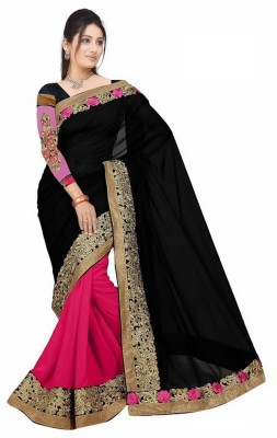 Panchi Embriodered Fashion Georgette Sari
