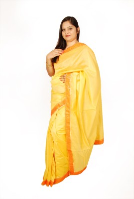 Shwapparels Solid Fashion Chanderi Sari