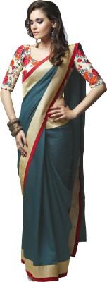 Sahiba Plain Fashion Georgette Sari