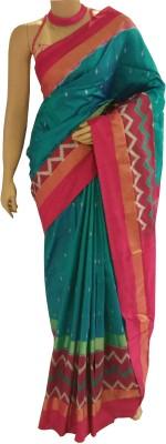 BEAUVILLE VAIIBAVAM Woven Patola Handloom Pure Silk Sari