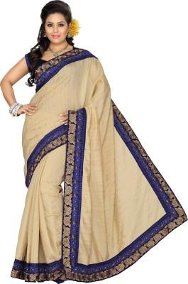 Ishin Embriodered Fashion Art Silk Sari
