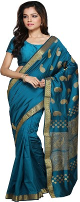 Pratami Self Design Chettinadu Art Silk Sari