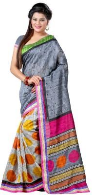 Salasar Printed Kota Doria Silk Cotton Blend Sari