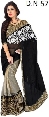 Sumitra Designs Embriodered Bollywood Net Sari
