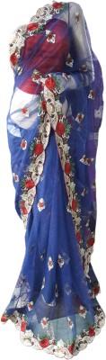 NEW LOOK DESINER Embriodered Bollywood Net Sari