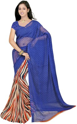 Gopal Retail Printed Fashion Chiffon Sari
