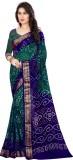 Sahaj Creation Self Design Bandhani Art ...