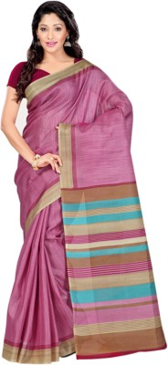 Sunaina Plain Fashion Art Silk Sari