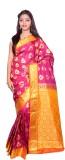 JCN Self Design Mysore Art Silk Saree (P...