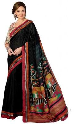 Indian House Printed Bhagalpuri Printed Silk Sari