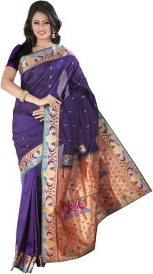 Signature Fashion Self Design Paithani Art Silk Sari