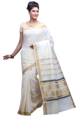 DARPS Printed Venkatagiri Handloom Cotton Sari