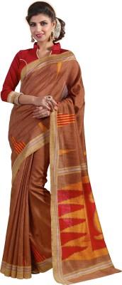 Gaurangi Creations Printed Bhagalpuri Art Silk Sari