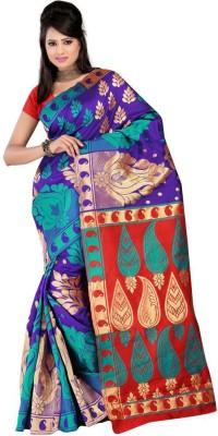 PURESILK Woven Banarasi Banarasi Silk Sari